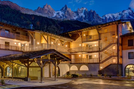 Mont-Blanc Charming SPA resort for 5 or 7 people