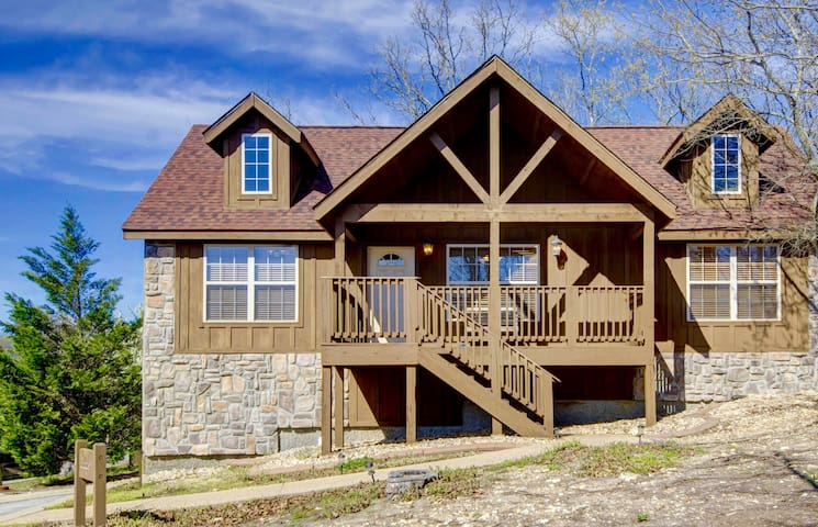 $139/nght April-May21 Cabin- Branson close to SDC - Branson West - Kabin