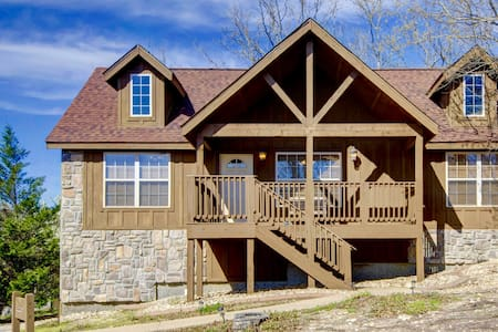 Beautiful Cabin- StoneBridgeVillage ( Branson) - Branson West - Zomerhuis/Cottage