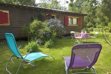 bungalow bois en lisière de forêt - Montigné-lès-Rairies