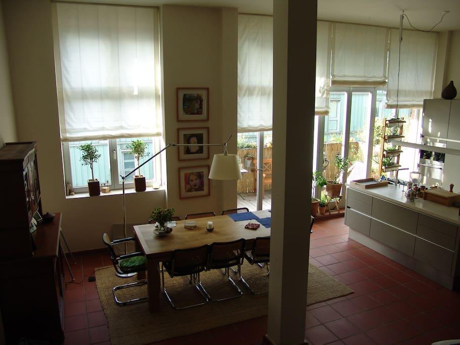 altstadtnahe loftwohnung wohnungen zur miete in bielefeld nordrhein westfalen deutschland. Black Bedroom Furniture Sets. Home Design Ideas