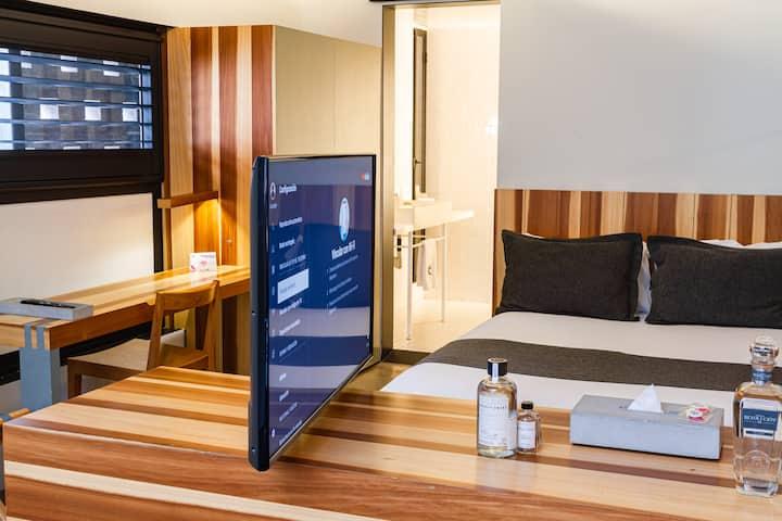 Nueva Habitación Reforma! Terraza/Alberca/SmartTv