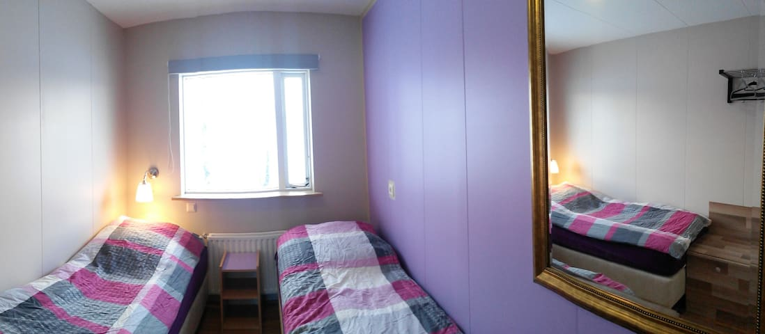 3) Cosy little room with view to the farm