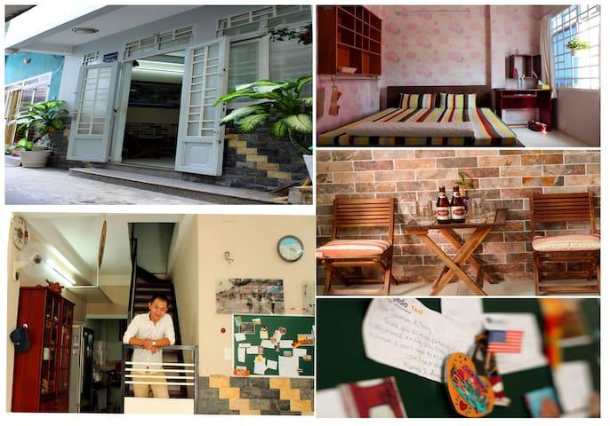homestay near local bus stop & park - Ho Chi Minh City