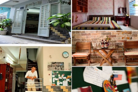 homestay near local bus stop & park - Ho Chi Minh - Rivitalo