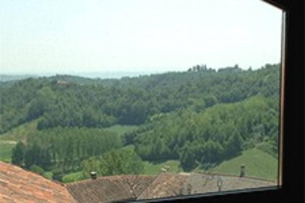 Utsikt fra hems