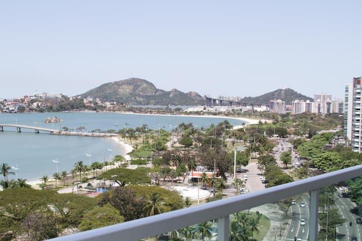 O mais maneiro, Praia do Canto Apart Hotel