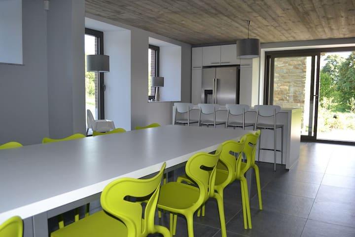 Maison Paquay  Le bien-être dans un écrin de calme - Libramont-Chevigny - Casa