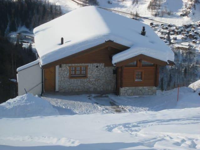 Chalet de montagne  - Saint-Luc - Haus