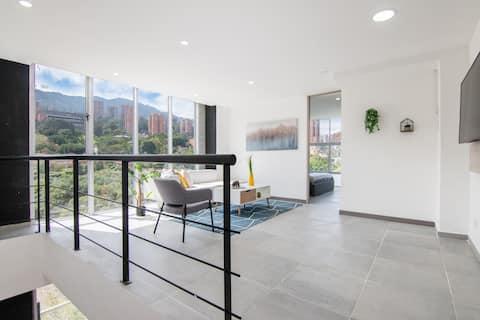 ★EXCLUSIVE DUPLEX★ Apartment near LLERAS PARK