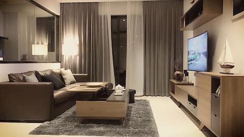 【Apartment】每客消毒/海景房/椰梦长廊/红树林度假世界/Ego酒吧/夜市/可做饭 晨航公寓