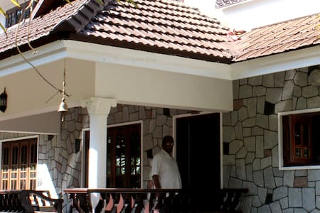 A serene location close to Kottayam and Thekkady