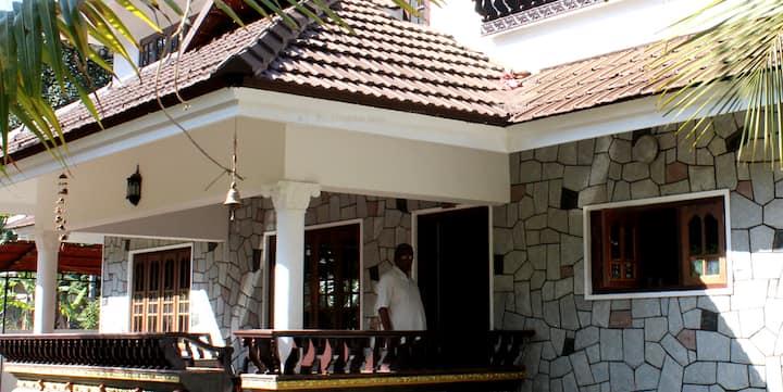 A serene location close to Kottayam and Thekkady