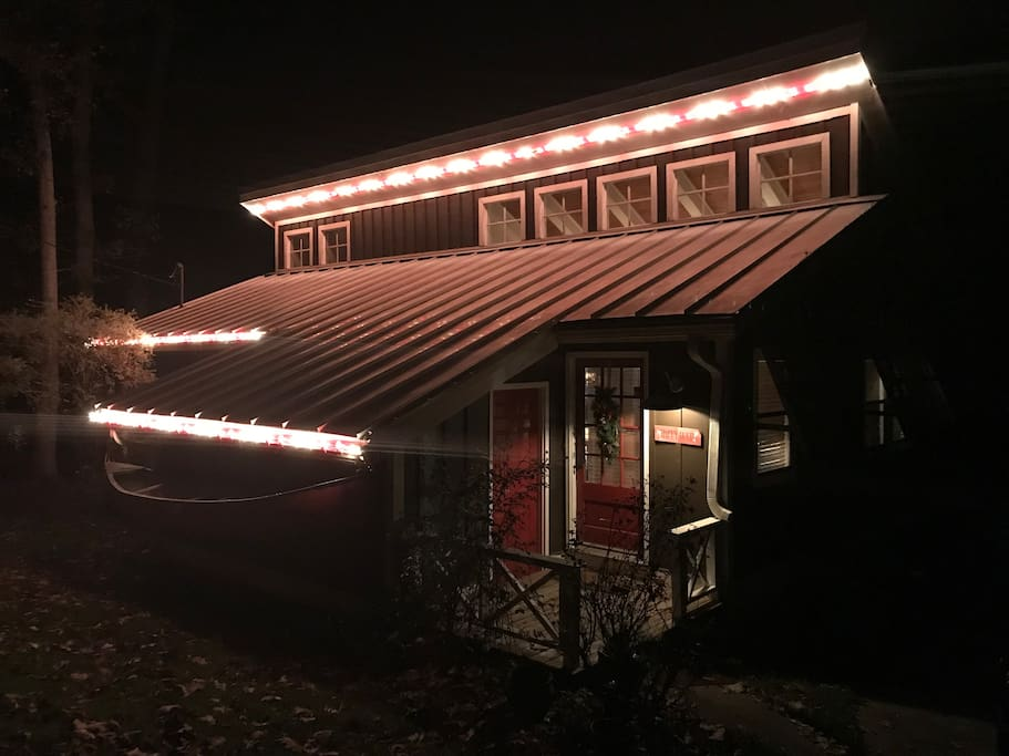 Holiday Time at the Canoe House