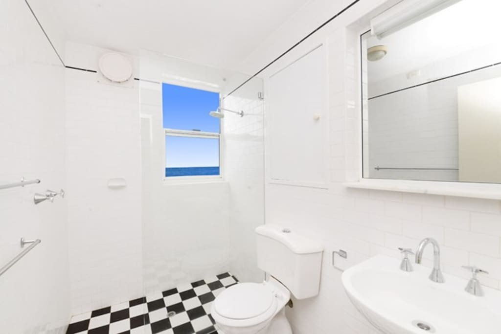 From the bathroom - take your shower looking at the ocean