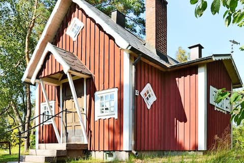 Cosy cabin in Mellbystrand 400 meters from the sea