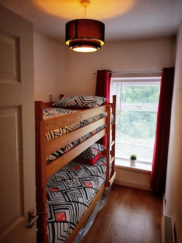 Bedroom 3 Sleeps 2 people We have Quality mattresses on both beds to give you a good nights sleep.