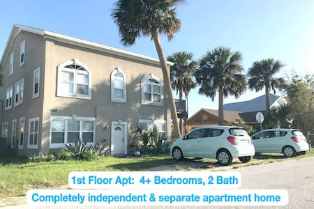 Easy beach access, centrally located for walking.
