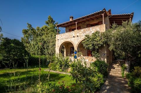 Casa de pedra tradicional