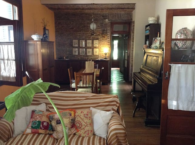 Room in beautiful house with garden ! - Buenos Aires - House