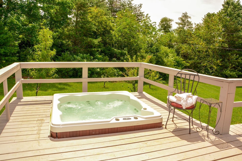 Hot Tub Open Year Round