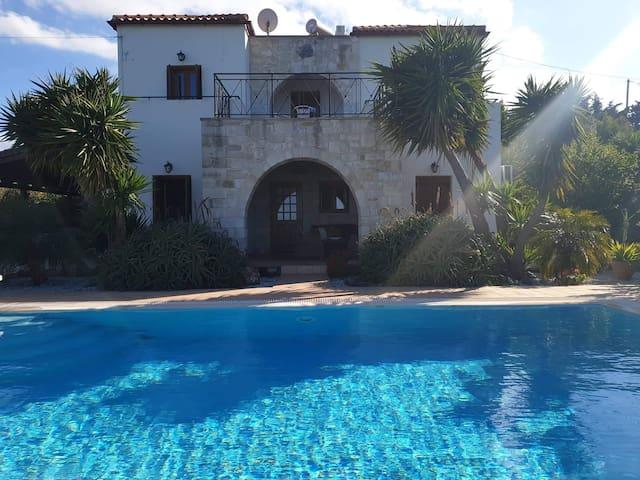 Villa Kristina, private pool, sea & mountain view