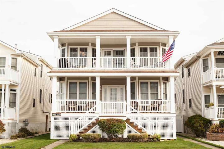 Nicely Decorated, Walk to Beach, Dog Friendly - Ocean City - Casa