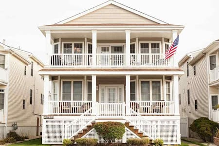 Nicely Decorated, Walk to Beach, Dog Friendly - Ocean City - Talo
