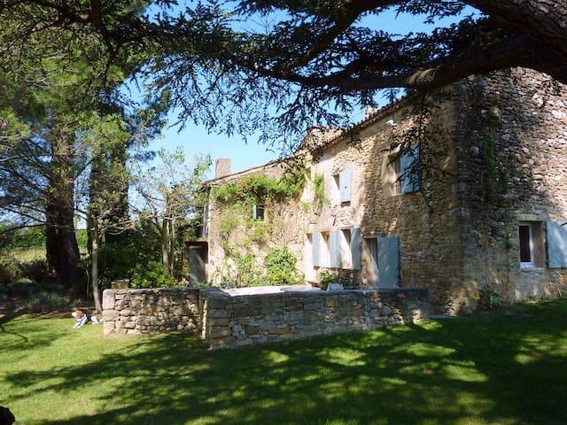 Mas ancien au milieu des vignes - Lourmarin - House