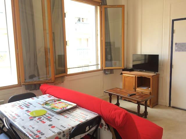 Appartement F2 de 28m² pour 2 personnes
