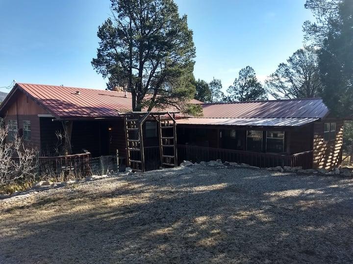 Carpenter Cabin in Timberon, NM