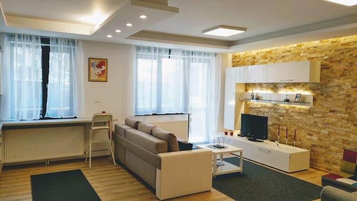 Studio 10, Busteni -Poiana Tapului, luxury 45 sqm.