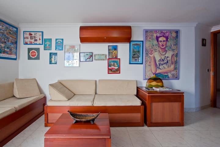 Alojamiento ideal en cartagena