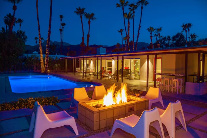 The Popsicle House | An Air Concierge Property - Palm Springs - Hus