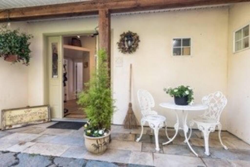 Garden Entry Front Door