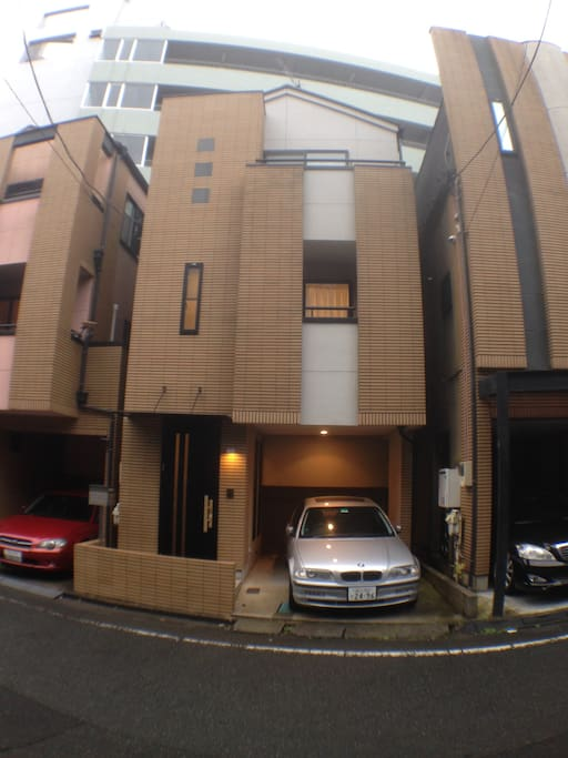Entire house (all 3 floors) with free car park.