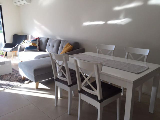 Dining Table and a Sofa Bed