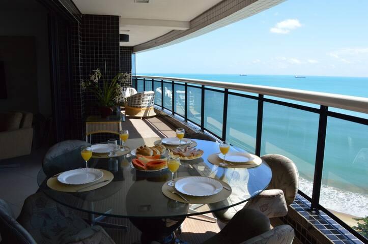 Luxuoso apartamento na Av Beira Mar - Fortaleza - Apartamento