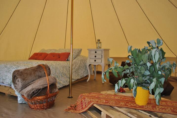Campo Escondido - Glamping - Carpa Atardecer 1 - Tuta - Tenda de campanya