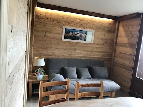 Apartment 2/6 pers near heart village