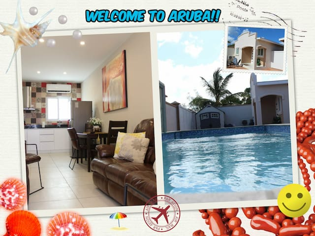 ARUBA APARTMENT SAN MIGUEL - CLOSE TO EAGLE BEACH