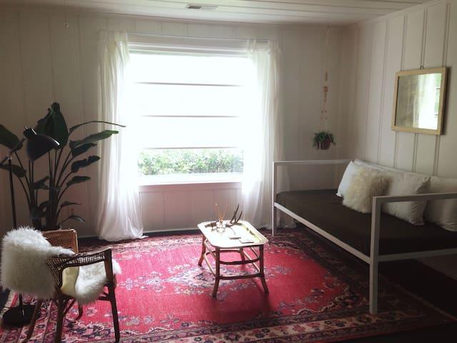 Cozy Mid Century Apartment in East Nash