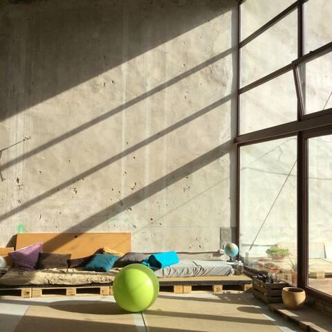 ECOHOME LOFT ecofriendly & COcreative space - Tarragona - Loft