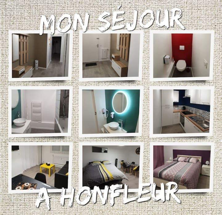 """Appartement classé 3* Honfleur """"G.Y.T.E'S"""""""