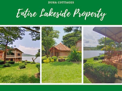 Duha Cottages on Lake Muhazi -  Entire property