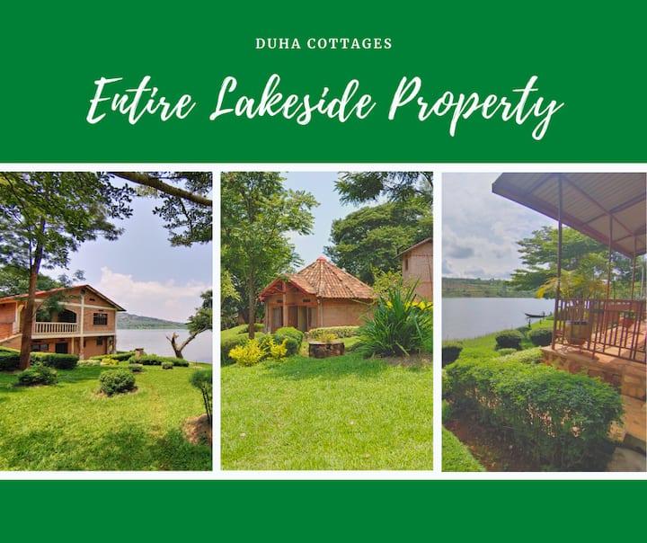 Duha Cottages on Lake Muhazi -  Entire property