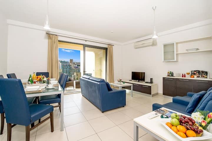 St Julians Central Apartment