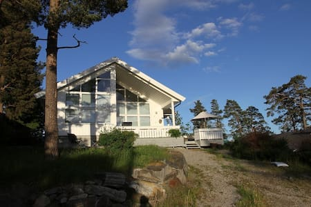 Peaceful summer house by the sea and spa hotel - Vestby - Rumah