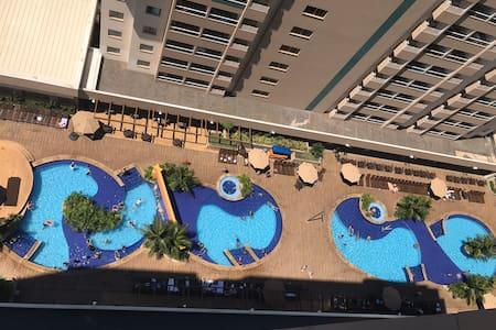Apto novo em resort - Olimpia SP (ate 6 pessoas)