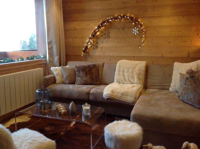 Superbe appartement Wifi Retour Skis Aux Pieds - Les Avanchers-Valmorel - Apartment